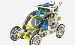 CIC 21-615 Educational Solar Robot Kit 14 in 1 Video Review