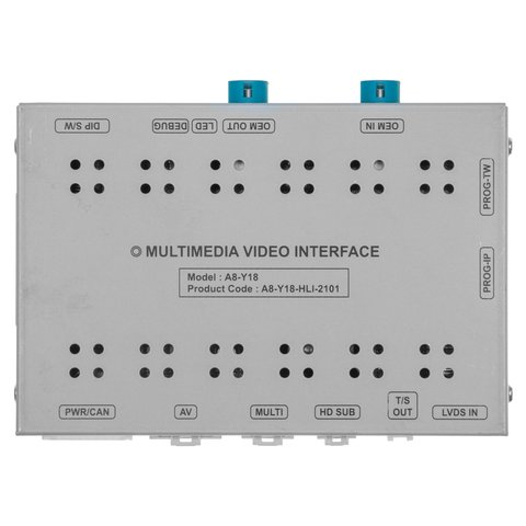 """Video Interface for Audi A8 DUO 10.1"""" Audi  A6 Duo 8.8"""" Duo Porsche PCM5.0  Volkswagen MIB3 G8 10.1"""" 2020  YM"""
