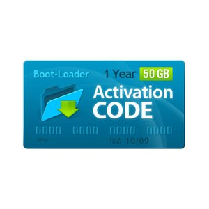 Boot-Loader v2.0 Activation Code (1 year, 50 +10 GB)