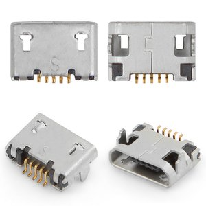 Charge Connector for Sony Ericsson X10 mini pro (U20) Cell Phone, (5 pin, Copy, micro USB type-B)