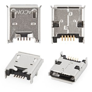 Charge Connector for Acer Iconia Tab B1-A71 Tablet, (5 pin, micro USB type-B)