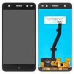 LCD ZTE Blade V7 Lite, (black, with touchscreen, Original (PRC))