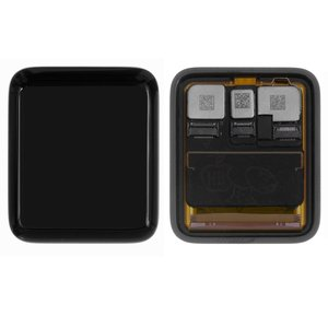 LCD for Apple Watch 3 38mm Smart Watch, (black, with touchscreen)