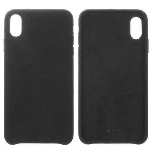 Case Baseus compatible with iPhone XS Max, (black, Super Fiber, plastic) #WIAPIPH65-YP01