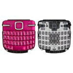 Клавиатура для Nokia C3-00, розовая, русская