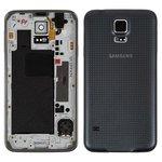 Корпус для Samsung G900H Galaxy S5, сірий