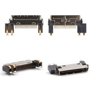 Коннектор зарядки для мобильных телефонов LG C1100, C1150, C1200, C1400, C2200, F2200, F2300, F2400, F2410, F3000, KG210, KG220, KG225, M6100, S3500, S5000, S5200