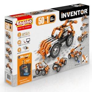 Конструктор Engino Inventor 50 в 1 с электродвигателем