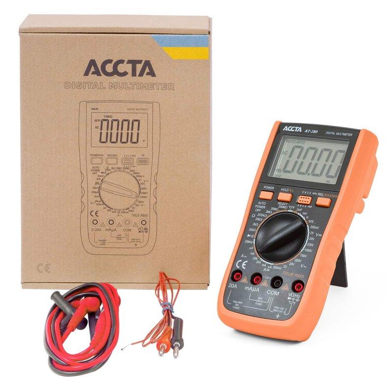 Цифровий мультиметр Accta AT-280 Зображення 1