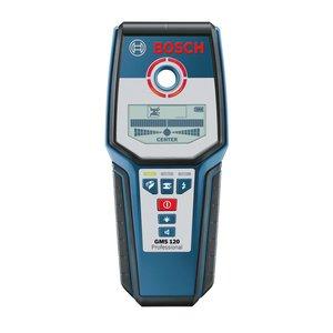 Детектор проводки, металів і деревини Bosch GMS 120 Professional
