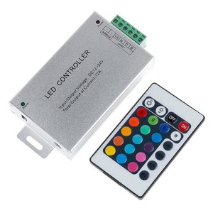 Контролер з ІЧ пультом HTL-010 (RGB, 5050, 3528, 144 Вт)