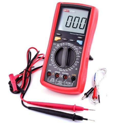 Цифровий мультиметр UNI T UTM 170A UT70A