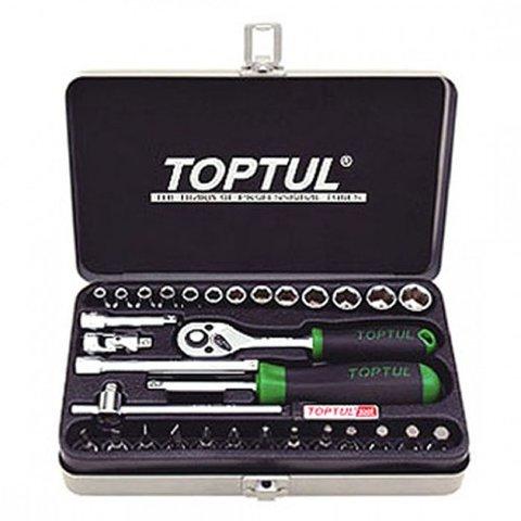 Набір інструментів у кейсі TOPTUL GCAD3202