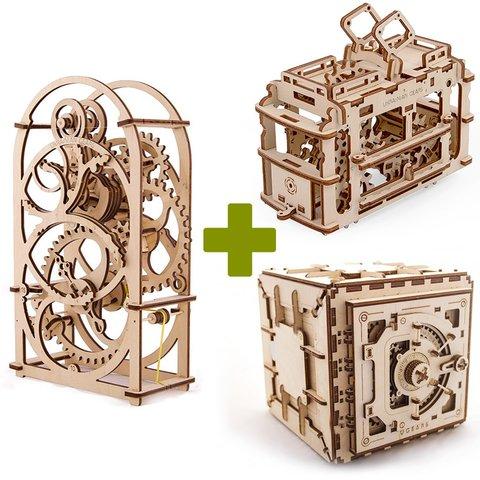 Mechanical 3D Puzzle UGEARS Premium Collection