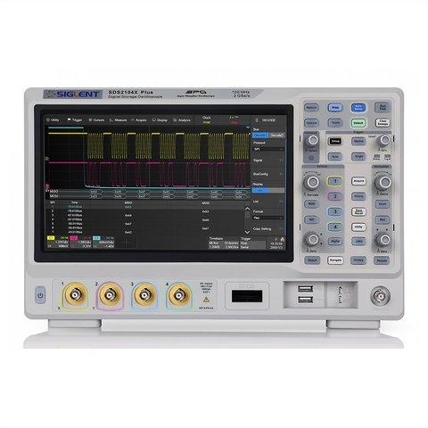 Digital Oscilloscope SIGLENT SDS2104X Plus